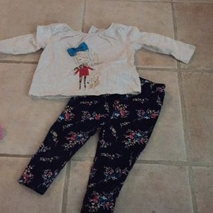Baby gap fall matching outfit